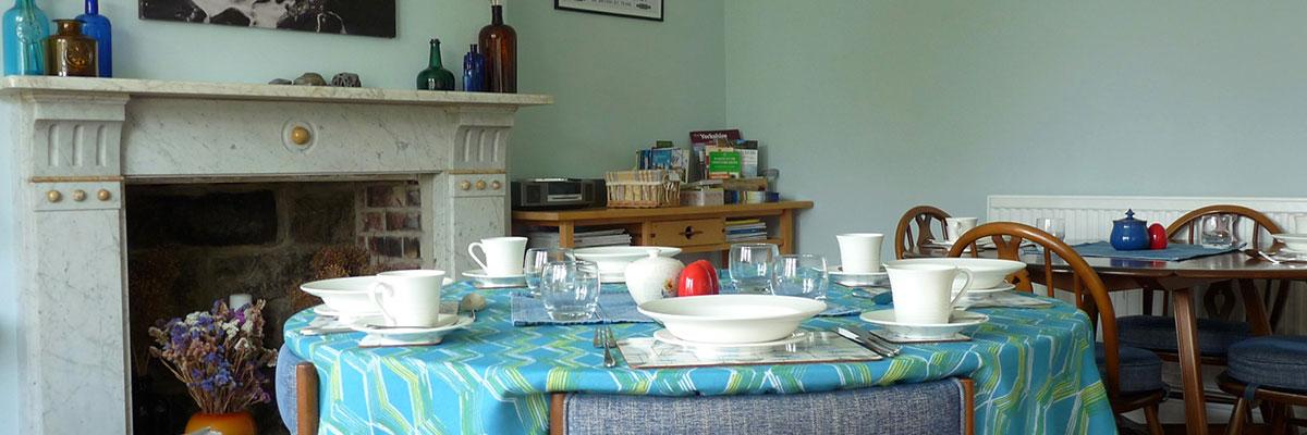 Saxon Villa Breakfast